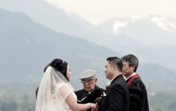 Colourful and Fun Mountaintop Wedding Film