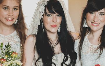 Creative & Unique DIY Scottish / Japanese Barn Wedding Part 1