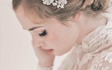 Enchanted Atelier Bridal Accessories Anastasia Comb