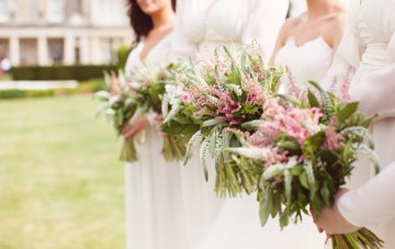 rustic wedding bouquet   howell photography