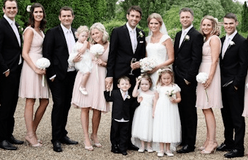 Classic & Romantic Blush Pink Notley Abbey Wedding