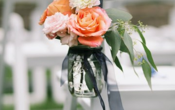 Elegant Navy and Coral Wedding   Simply Jessie Photography 7