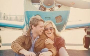 Travel Themed Engagement Shoot by Lauren Fair Photography via Bridal Musings17