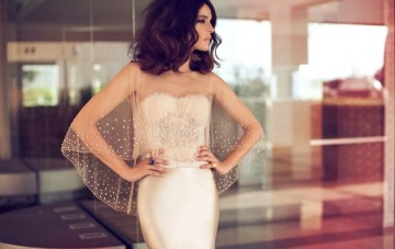 Modern, Daring & Glam Wedding Dresses By Zahavit Tshuba