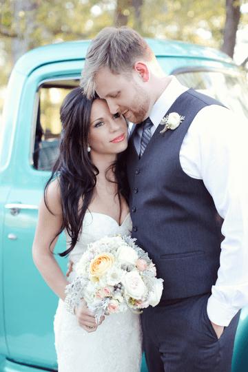 Beautiful Rustic Vineyard Wedding1