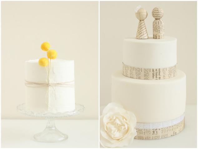Hello Naomi Modern Chic Wedding Cakes Bridal Musings