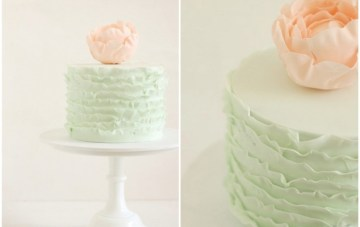 Hello Naomi: Modern, Chic Wedding Cakes