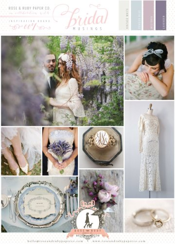 Rose-&-Ruby-Wedding-Inspiration-Board-7-Vintage-Lace-Powder-Blue-Lavender-Wisteria