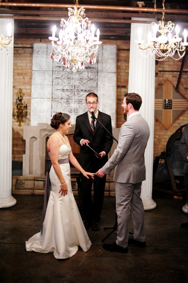 Urban Chic Wedding At Salvage One Chicago By Two Birds Photography