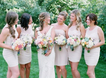 Pastel Rustic Chic Wedding | Laura Murray Photography | Bare Root Flora 36