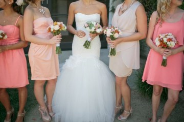 Pink, Peach & Coral Summer Wedding | Troy Grover Photographers 22