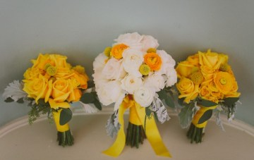 Retro Grey and Yellow Garden Wedding | With Love And Embers 5