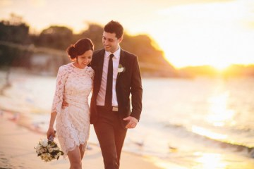 Chic Black and White Wedding in Sydney | Origami Creatives 23