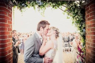 Pretty Pastel English Garden Wedding | Yellow Bird Photography 3