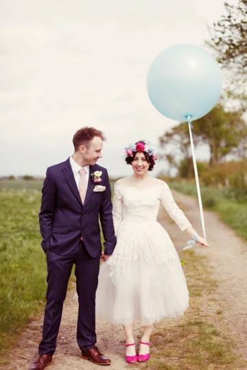Colourful Vintage Wedding | Rebecca Wedding Photography 3
