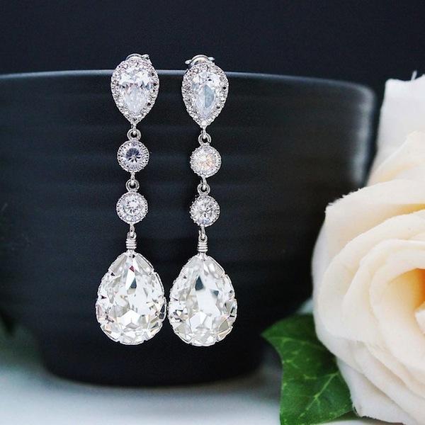 0813eefaf Win A Pair Of Beautiful Bridal Earrings By Earrings Nation