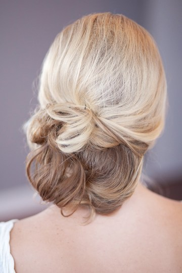 chignon hair tutorial | Millie B Photography | Bridal Musings 4