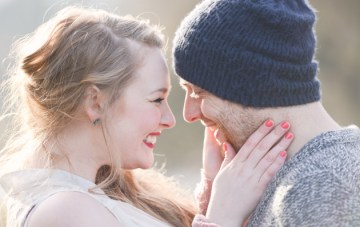 Cosy Engagement Shoot   Christie Graham Photography   Bridal Musings 18