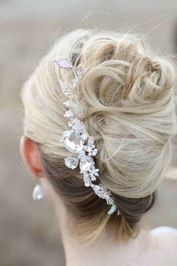 Wedding Hair Inspiration Tutorials The French Twist Bridal Musings