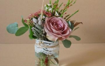 DIY Rustic Hanging Aisle Decor / Bouquet Alternative