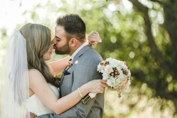 Navy and Peach Wedding | Anita Martin Photography | Bridal Musings 24