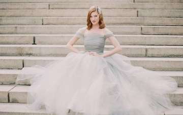 A Ball Gown Wedding Dress Perfect For A Princess Bride