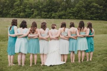 Teal and Coral DIY Wedding | Jennifer Van Elk Photography | Bridal Musings 29