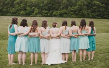 Teal and Coral DIY Wedding   Jennifer Van Elk Photography   Bridal Musings 29