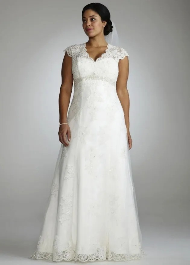 Plus Size Wedding Dresses From 10 of The Top Plus Size ...