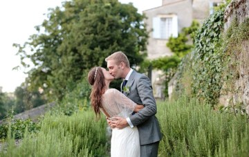 Intimate French Chateau Wedding Featuring A Beautiful Bride In A Jenny Packham Wedding Dress