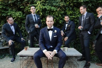 Reem Acra wedding dress   chic California wedding   Traci Griffin Photography   Bridal Musings 16