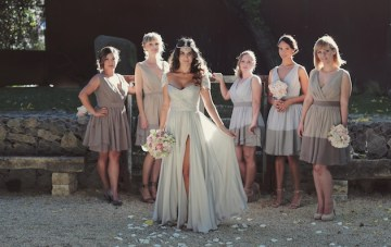 Reem Acra wedding dress | chic California wedding | Traci Griffin Photography | Bridal Musings 21