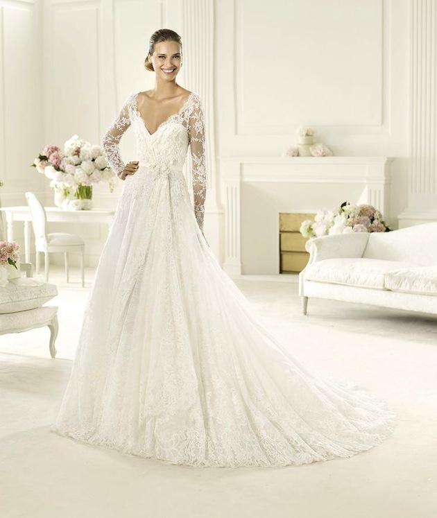 Elie Saab Wedding Dress Half Shoulder