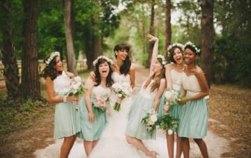 Blush and Mint Rustic DIY Wedding | Beca Companioni Photography | Bridal Musings Wedding Blog 35