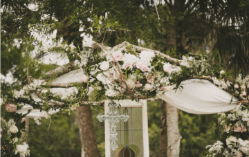 pink and mint wedding | Beca Companioni Photography | Bridal Musings Wedding Blog 1