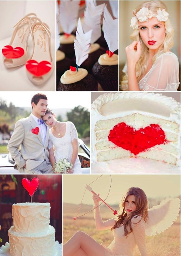 6 Pretty Wedding Inspiration Boards Perfect For Valentine's Day