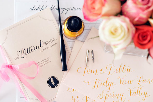 DIY Calligraphy For Your Wedding