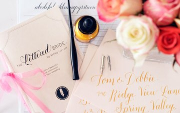 Top 10 Tips on DIY Calligraphy For Your Wedding