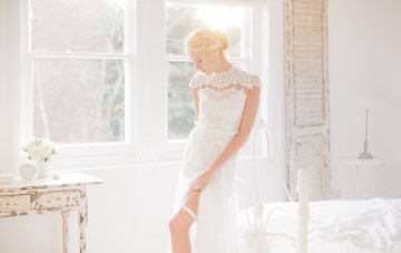 The Wedding Garter Co. Debut Collection (And a Very Special Reader Treat)