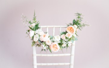 Creative & Unique Wedding Chair Decor Ideas