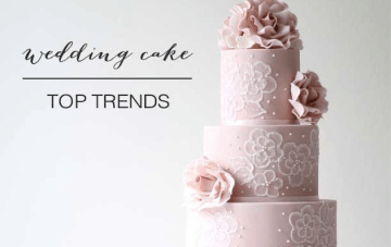 Three-Tiered and Trendy; Chic Wedding Cakes For 2014