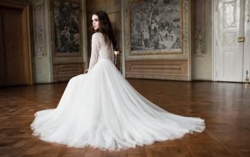 Romantic Elegance: Daalarna 2014 Wedding Dress Collection