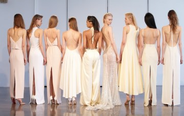 Want To Look Like A 90's Supermodel On Your Wedding Day? Check Out Houghton Bride's Latest Collection!