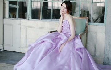 Exclusive Look: The breathtakingly beautiful Sareh Nouri Orchid Wedding Dress