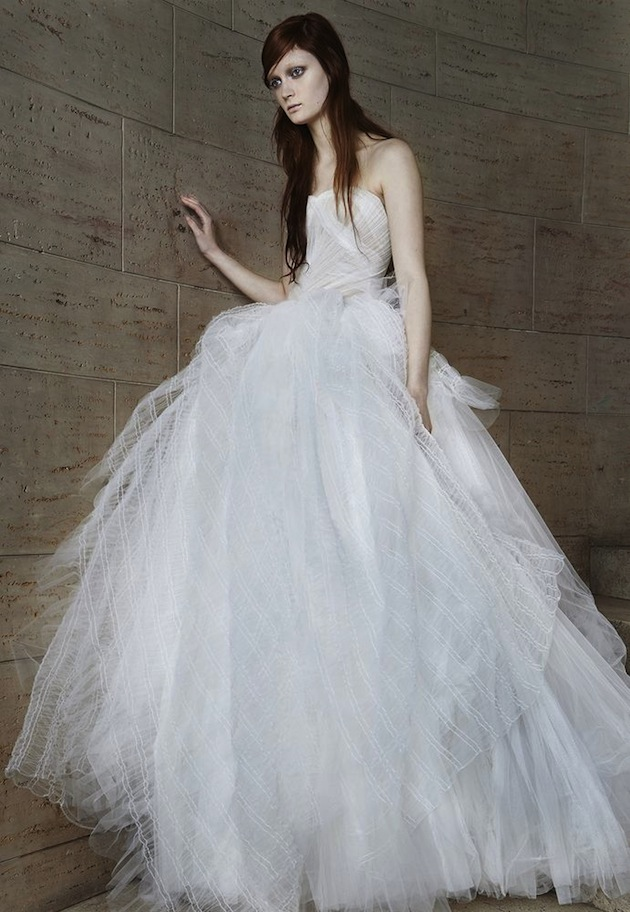 Vera Wang Wedding Dress Collection Spring 2015 Bridal Musings