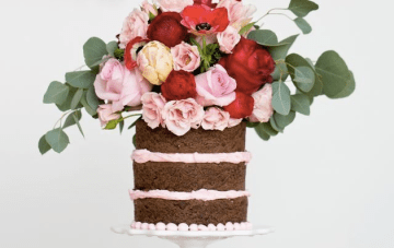 2014 Wedding Cake Trends #2 – Naked Cakes