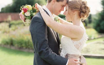 Elegant, Pretty and Full of Flowers; Romantic English Garden Wedding