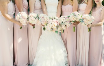Charming Tulsa Wedding with Incredible Desserts, Beautiful Blooms and a Shabby Chic Feel