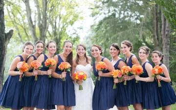 Orange and Yellow Garden Wedding | Brae Howard Photography | Bridal Musings Wedding Blog 19