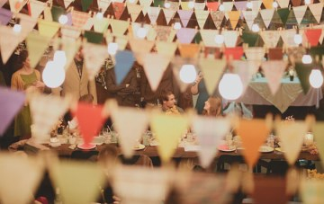 10 New and Unique Ways To Use Bunting at Your Wedding